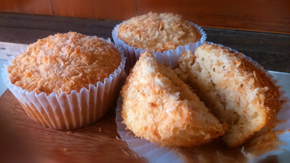 Resultado de imagem para muffin de coco